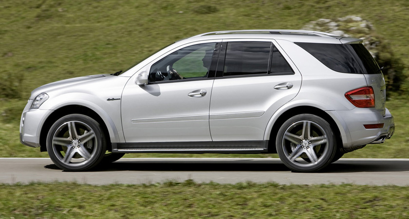 Mercedes Benz ML63 AMG 2009